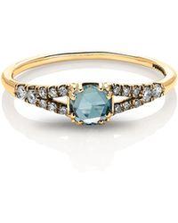 Maniamania - Devotion Solitaire Diamond Ring - Lyst