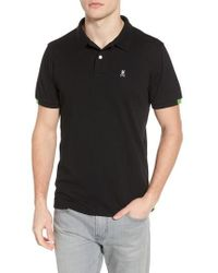 Psycho Bunny - Neon Tipped Golf Polo - Lyst