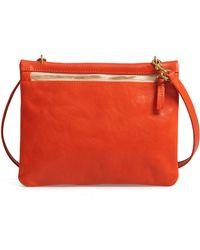 7cfafbcaef Clare V. - Jumelle Leather Crossbody Bag - Lyst