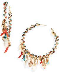 Gas Bijoux - Pondichery Hoop Earrings - Lyst