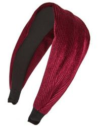 Cara - Pleated Headband - Lyst