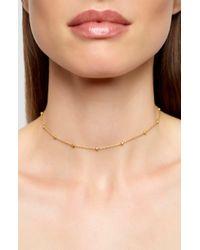 Argento Vivo - Choker Necklace - Lyst