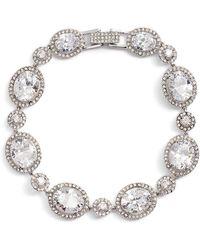 Nordstrom - Crystal Statement Bracelet - Lyst