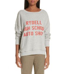 Simon Miller - X Paramount Grease Rydell Graphic Sweatshirt - Lyst