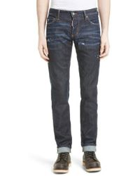 DSquared² | Slim Nothing Jeans | Lyst