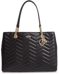 Kate Spade - Reese Park Courtnee Leather Tote - Lyst