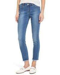 Articles of Society - Carly Ankle Skinny Jeans - Lyst