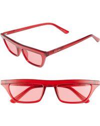 Quay - Finesse 52mm Sunglasses - Lyst
