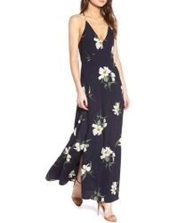 Storee | Floral Maxi Dress | Lyst