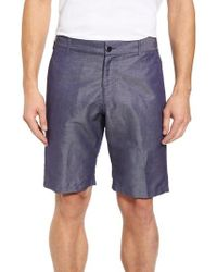 Vilebrequin | Linen Blend Bermuda Shorts | Lyst