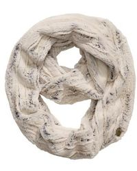 The North Face - Furlander Faux Fur Infinity Scarf - Lyst