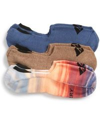 Sperry Top-Sider - Assorted 3-pack Liner Socks - Lyst
