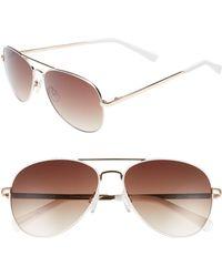 Chelsea28 - Alibi 59mm Metal Aviator Sunglasses - Lyst