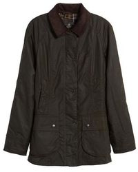 Barbour - Beadnell Waxed Cotton Jacket - Lyst