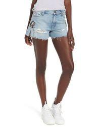Hudson Jeans - Sade Cutoff Denim Shorts - Lyst
