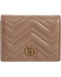 915bfb7ee2b288 Gucci - Gg Marmont 2.0 Matelassé Leather Card Case - Lyst