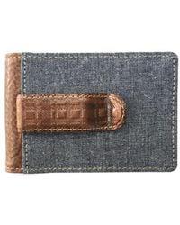 Boconi - Caleb Bifold Wallet With Money Clip - - Lyst