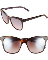 Ted Baker - 55mm Cat Eye Sunglasses - Lyst