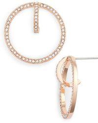 Vince Camuto - Orbital Hoop Earrings - Lyst