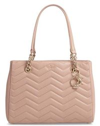 Kate Spade - Reese Park Courtnee Leather Tote - - Lyst