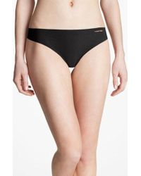 CALVIN KLEIN 205W39NYC - 'invisibles' Thong - Lyst