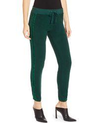Pam & Gela - Sweatpants With Velvet Stripes - Lyst