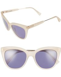 Derek Lam - 'lenox' 53mm Cat Eye Sunglasses - - Lyst