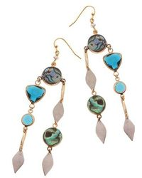 Nakamol - Stone Drop Earrings - Lyst