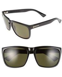 Electric - 'knoxville Xl' 61mm Polarized Sunglasses - Gloss Black/ Grey Polar - Lyst