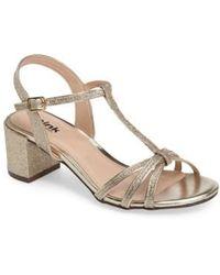 Paradox London Pink - Sadie T-strap Sandal - Lyst