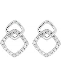 CARRIERE JEWELRY - Carriere Double Square Earrings (nordstrom Exclusive) - Lyst
