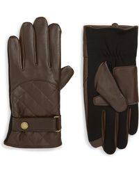 Polo Ralph Lauren - Quilted Leather Gloves - Lyst