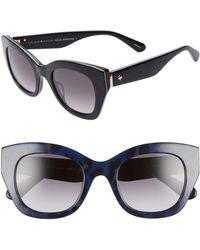 Kate Spade - Jalena 49mm Gradient Sunglasses - Lyst
