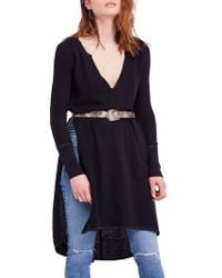Free People - Super Sonic Thermal Knit Tunic - Lyst