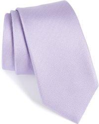 BOSS - Silk Tie - Lyst