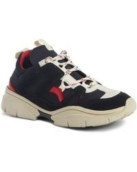 in Leather Beth White Lyst Isabel Sneakers for Men Marant I76gvYfmby