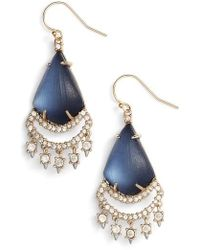 Alexis Bittar - Crystal Lace Lucite Chandelier Earrings - Lyst