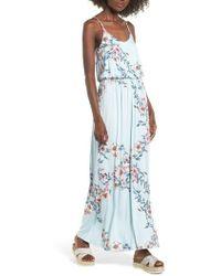 Nordstrom - Knit Maxi Dress - Lyst