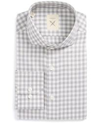 Strong Suit | Extra Trim Fit Check Dress Shirt | Lyst