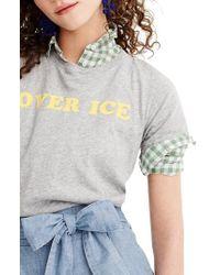 J.Crew - Over Ice Tee - Lyst