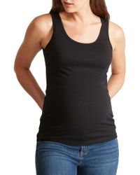 Ingrid & Isabel - Ingrid & Isabel Scoop Neck Maternity Tank - Lyst
