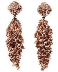 Sachin & Babi - Noir Lulu Drop Earrings - Lyst