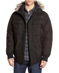 The North Face - 'gotham Ii' Hooded Goose Down Jacket With Faux Fur Trim - Lyst