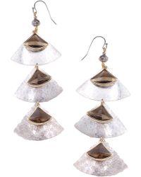 Nakamol - Fan Earrings - Lyst