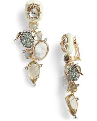 Alexis Bittar - Lime Stone Cluster Clip On Earrings - Lyst