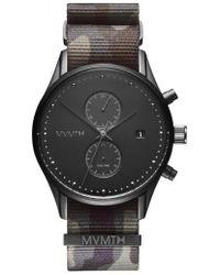 MVMT - Voyager Chronograph Nato Strap Watch - Lyst