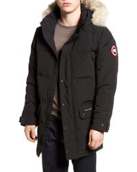 5fec6d85ae5 Canada Goose Arctic Rigger Insulated Coverall in Black for Men - Lyst