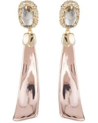 Alexis Bittar - Crystal Detail Drop Earrings - Lyst