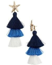 Lilly Pulitzer - Lilly Pulitzer Starbright Earrings - Lyst