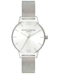 Olivia Burton - Sunray Mesh Strap Watch - Lyst